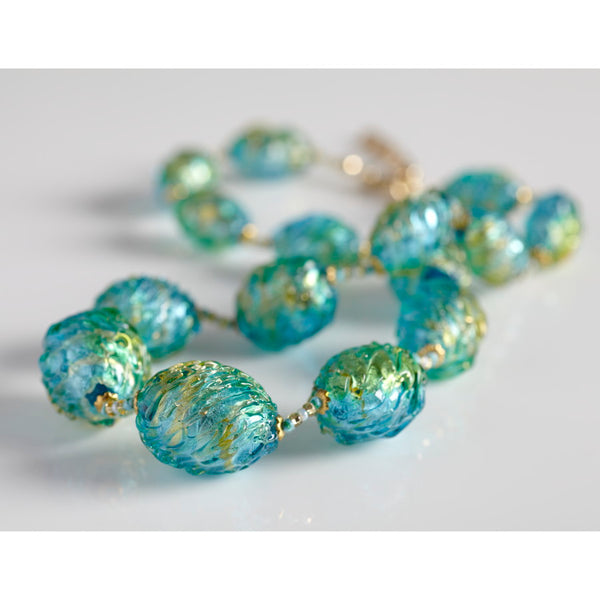 Laguna Murano Glass Necklace
