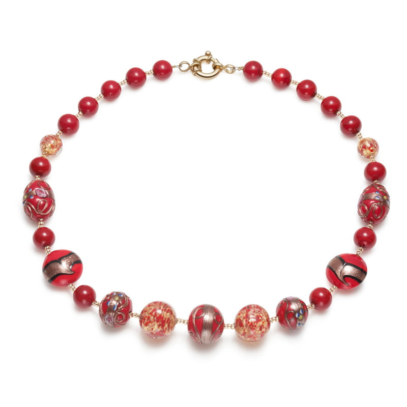 Orsini Murano Glass Necklace