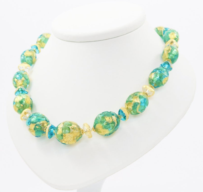 Capri Murano Glass Necklace