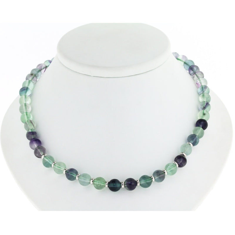 Giverny Fluorite Necklace