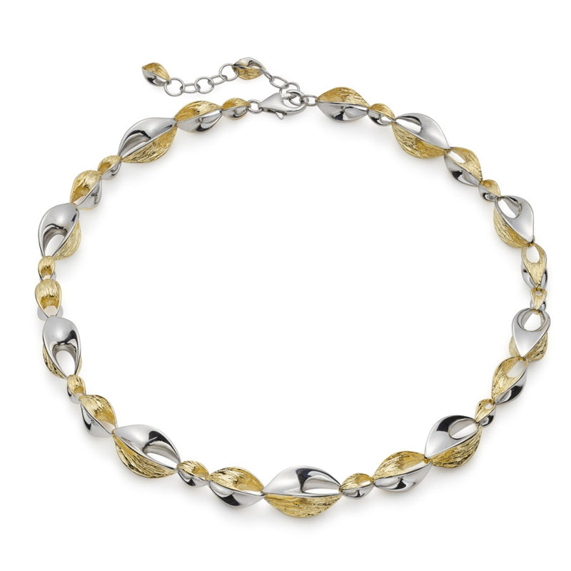 Barcelona Gilded Silver Necklace