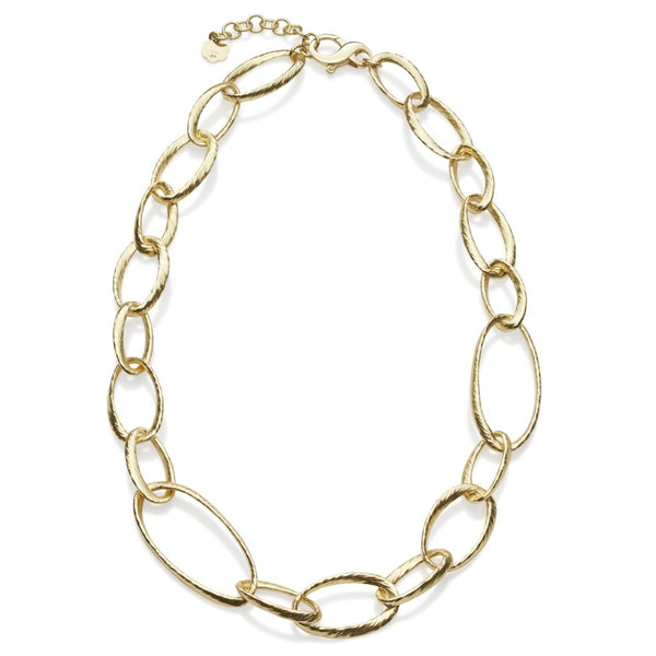 Donatella Gilded Silver Necklace