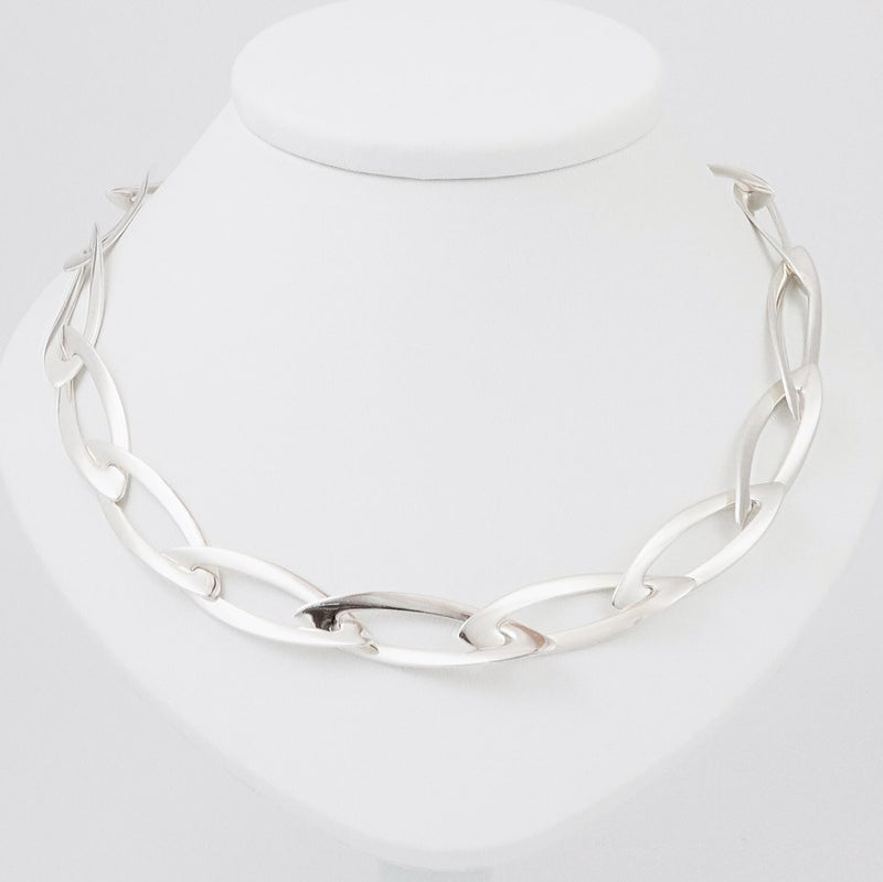 Ravelle Sterling Silver Necklace