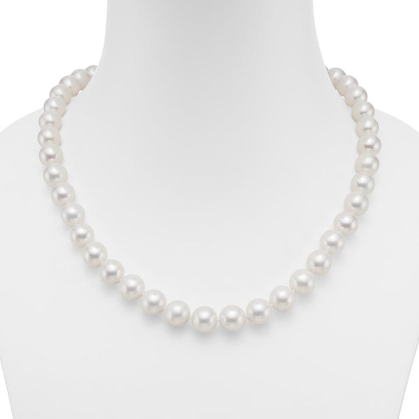 Seychelle White 10mm Pearl Necklace