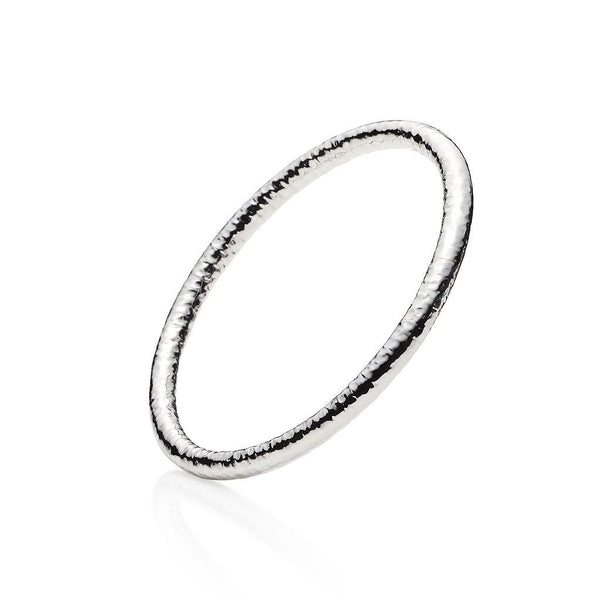 Sterling Silver Island Bangles Set of 3