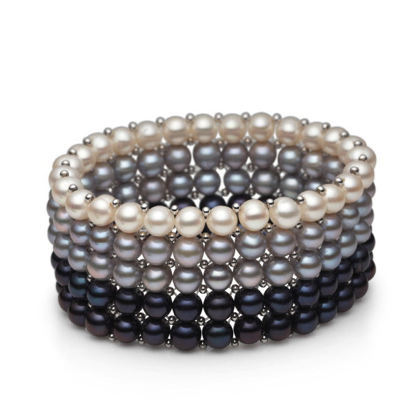 Shadowe Pearl Elasticated Cuff