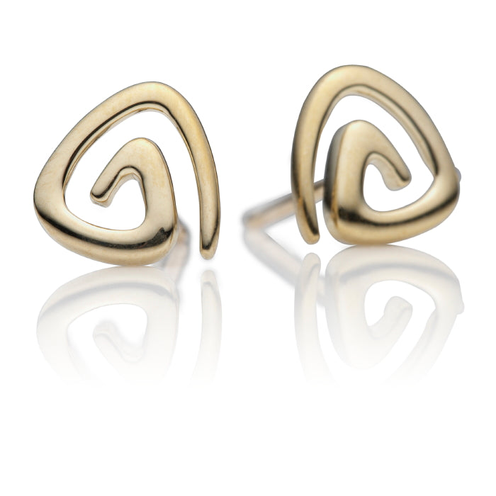 Tribeca 9ct Gold Ear Studs