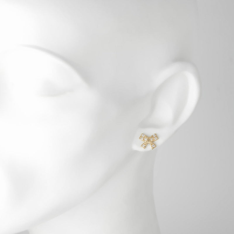 Sophie Gilded Silver & CZ Earrings