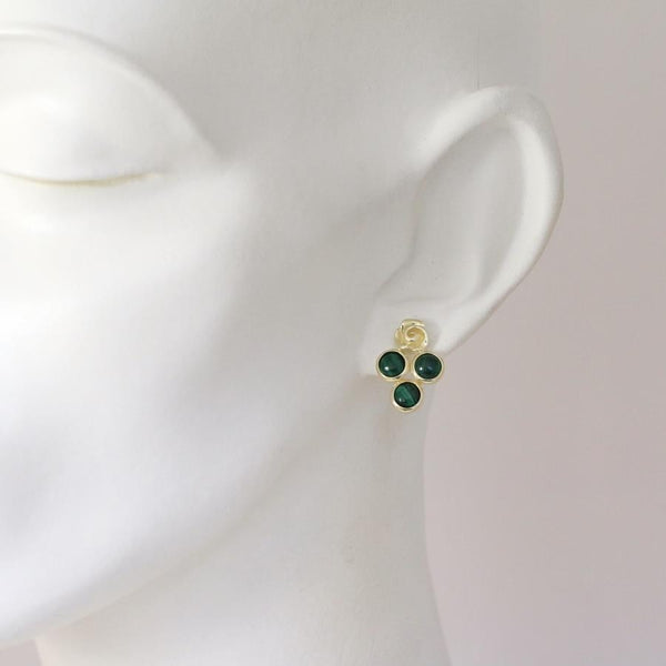 Babylon Malachite Earrings