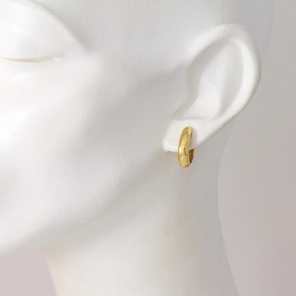 Cherie Gilded Silver Earrings