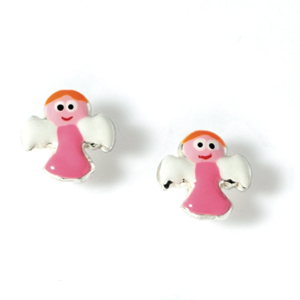 Little Angel Ear Studs CLEARANCE save £5