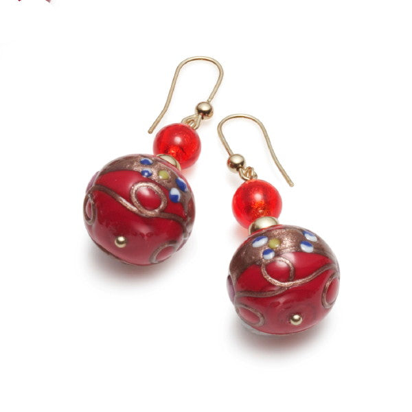 Orsini Murano Glass Earrings