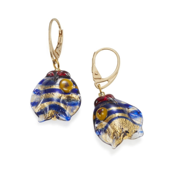 Angelina Murano Glass Earrings
