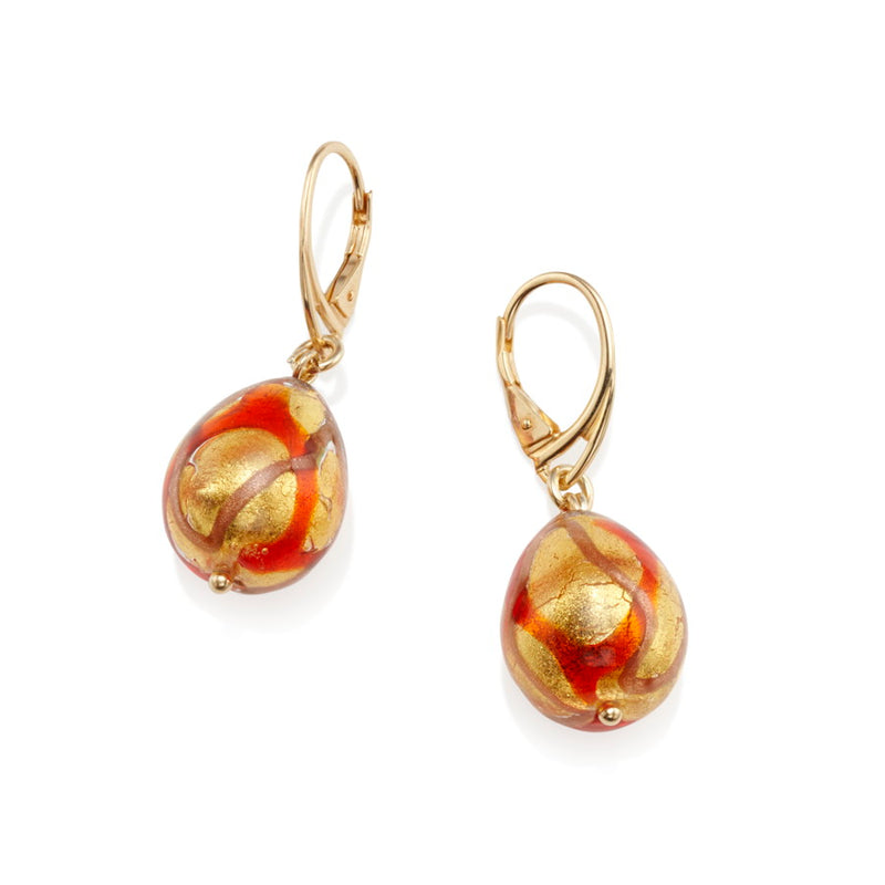 Fabia Murano Glass Earrings