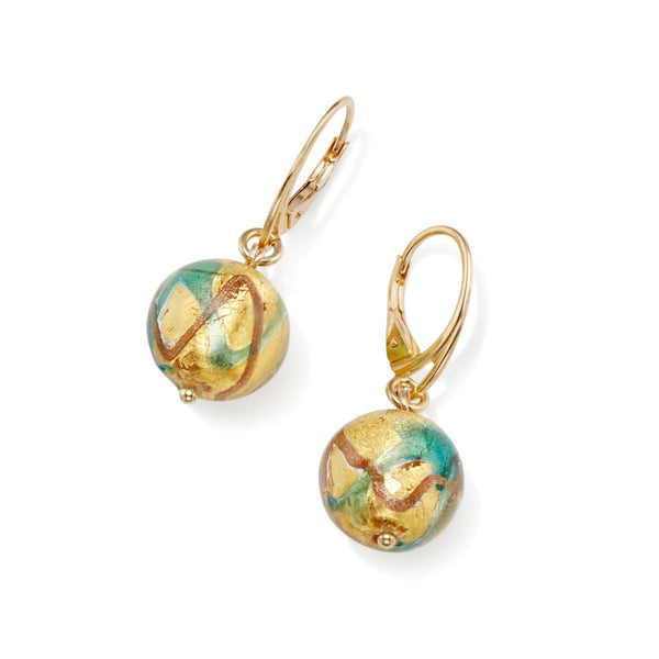 Masquerade Murano Glass Earrings
