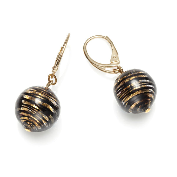 Spirale Murano Glass Earrings