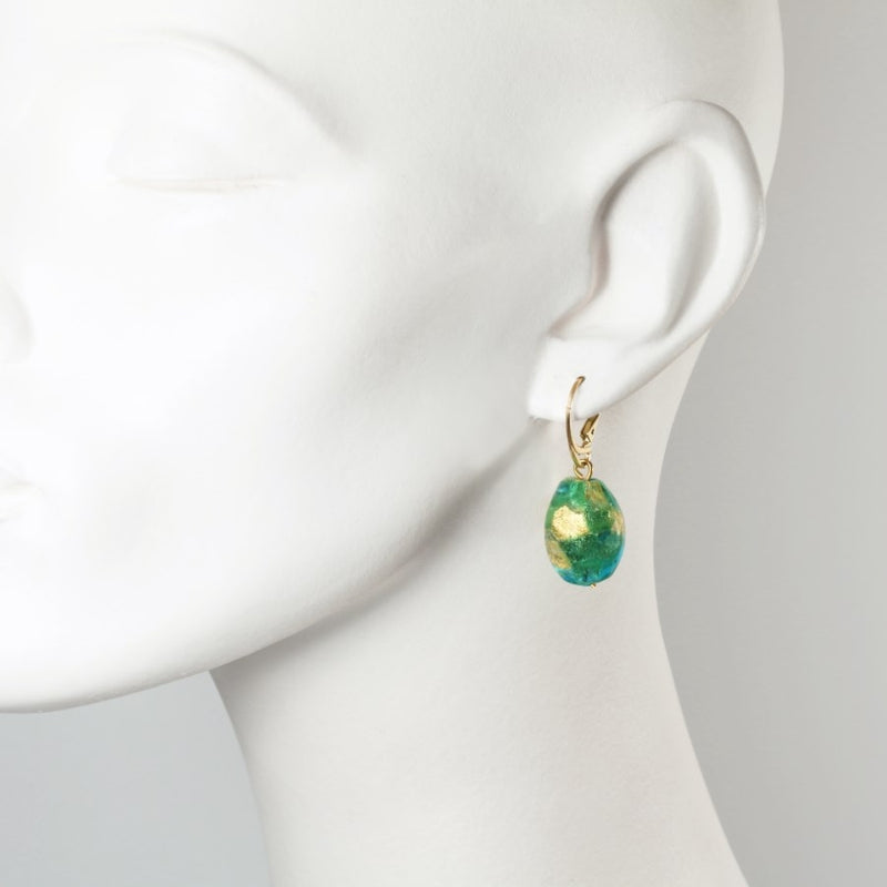Capri Murano Glass Earrings