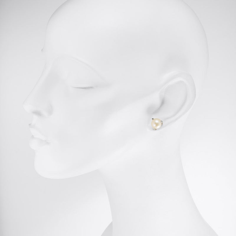 Tricia - Freshwater 9mm Pearl Studs