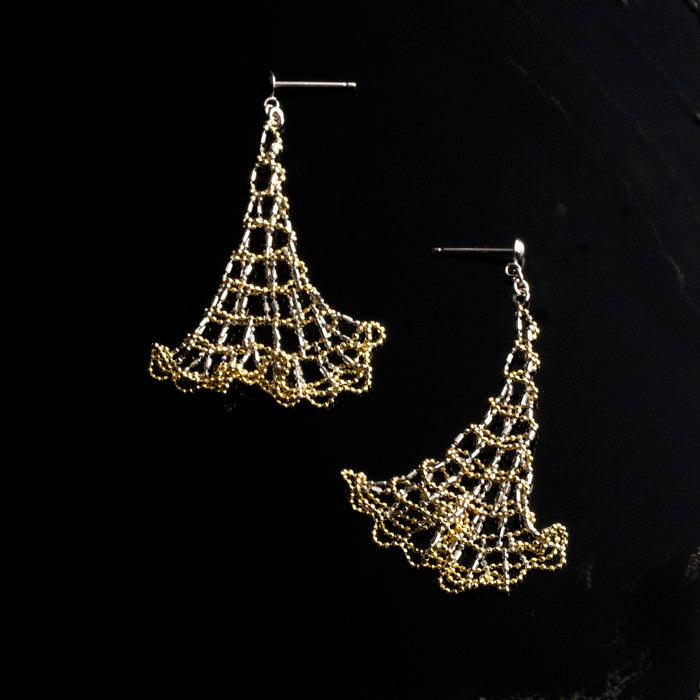 Coquette Sterling Silver Earrings