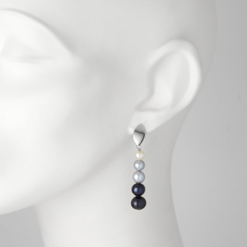Shadowe Pearl Earrings