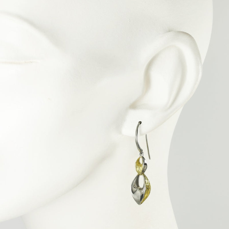 Barcelona Gilded Silver Earrings