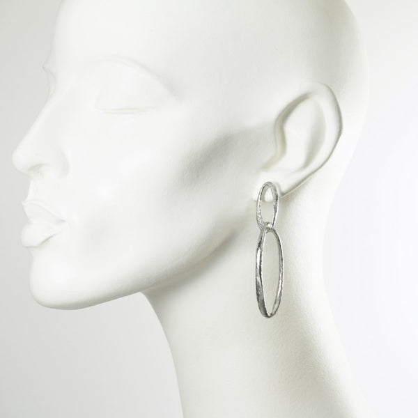 Donatella Sterling Silver Earrings