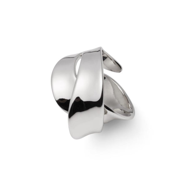 Embrace Sterling Silver Ring (Adjustable)