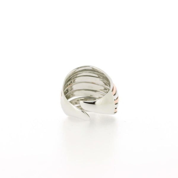 Sonora Rose Gilded Silver Ring