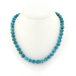 M084 Blue Kingman Turquoise Necklace SAMPLE