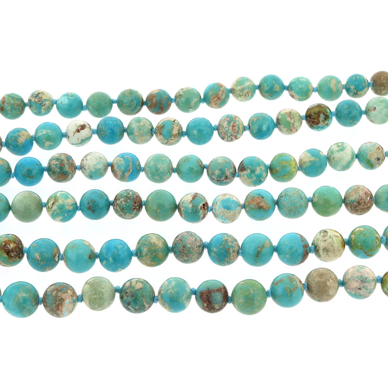 M088 Chinese Turquoise Necklace SAMPLE