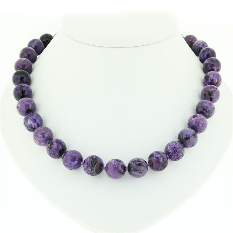 R1 Charoite Necklace SAMPLE