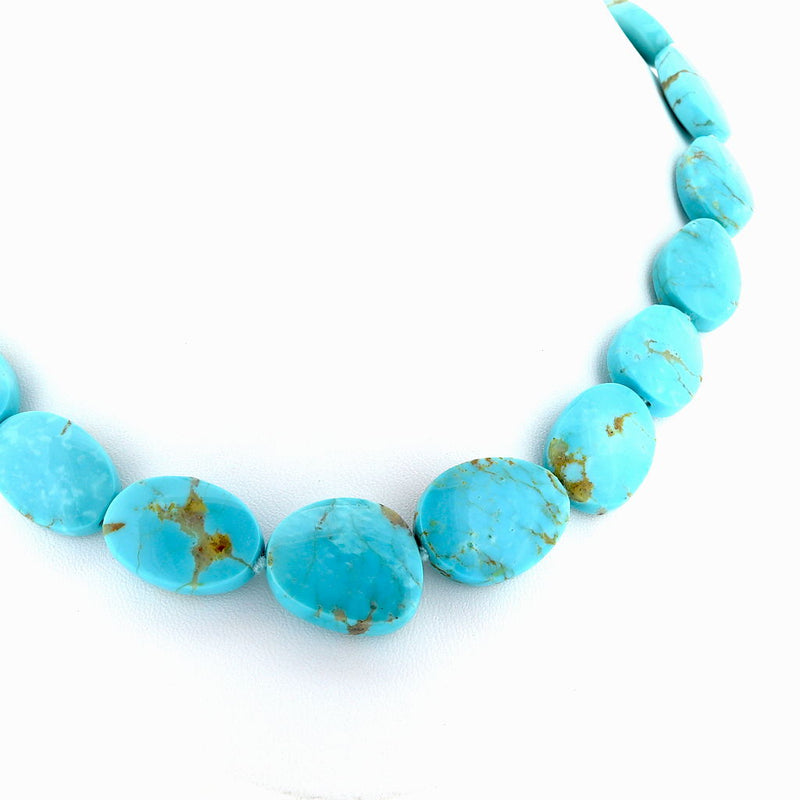 R219 Kingman Turquoise Necklace SAMPLE