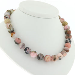R4 Pink Opal Necklace SAMPLE