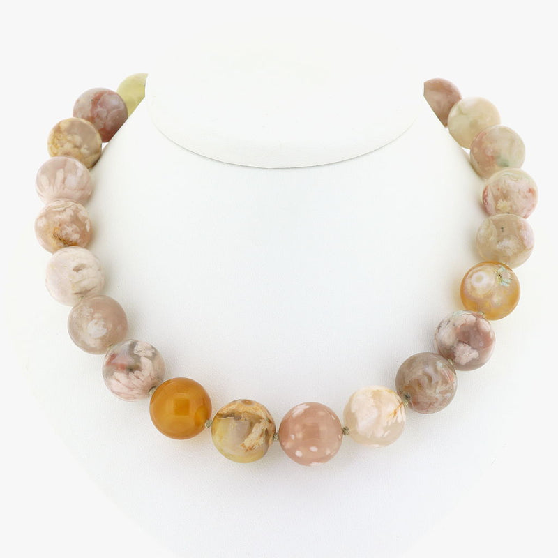 R7 Sakura Agate Necklace SAMPLE