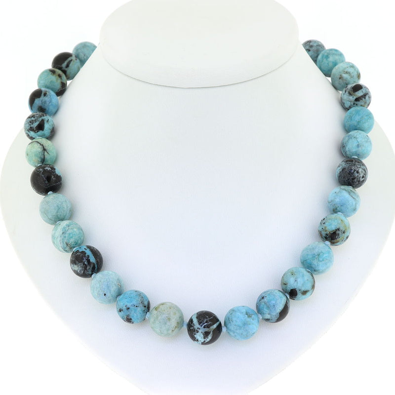 R13 African Blue Opal Necklace SAMPLE