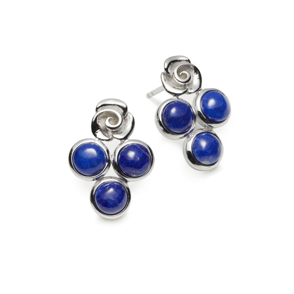 Babylon Lapis Lazuli Earrings