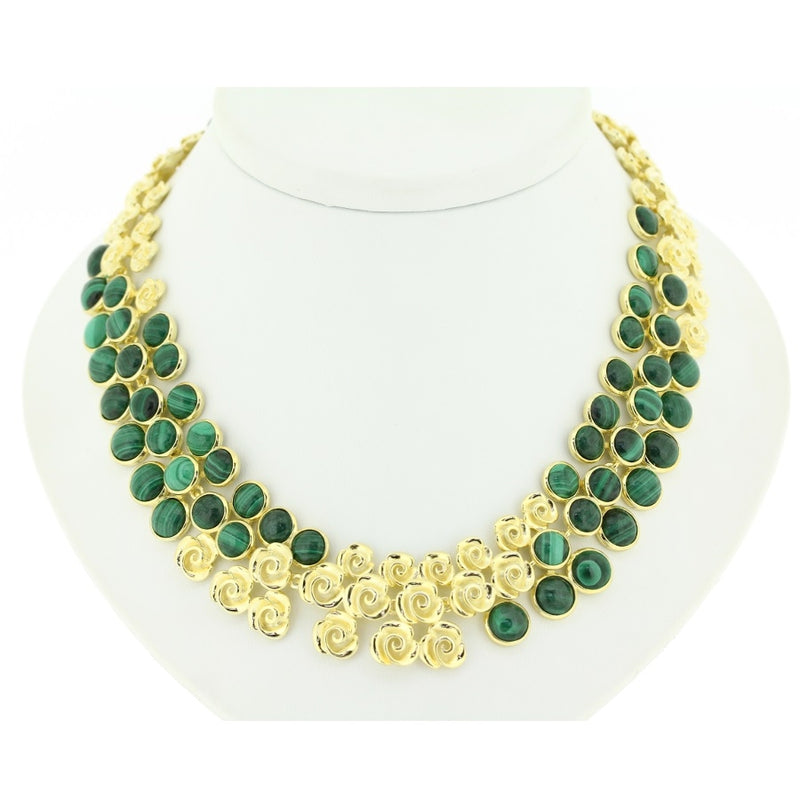 Babylon Malachite Necklace