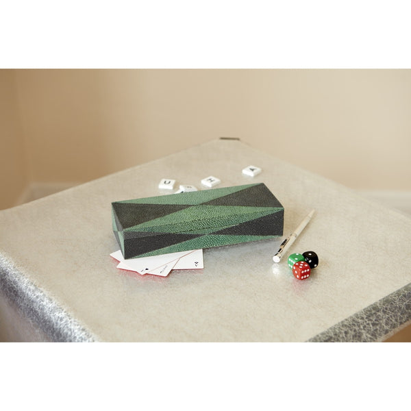 Acapulco Shagreen Card Box