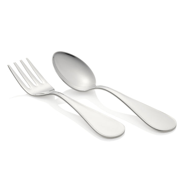Europa Sterling Silver Baby's Spoon & Fork Set