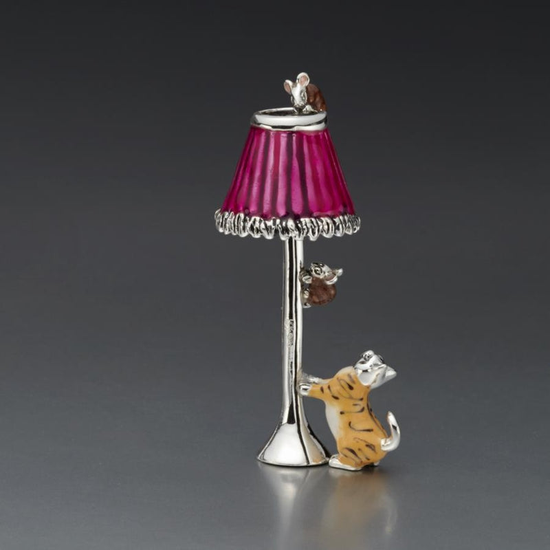 A Light Snack Silver & Enamel Model