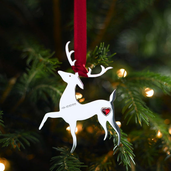 Cupid Sterling Silver Christmas Decoration PRE-ORDER