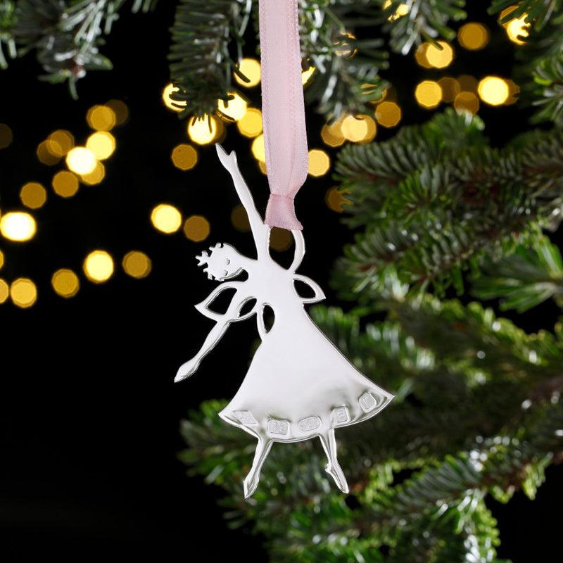 The Frost Fairy Sterling Silver Christmas Decoration