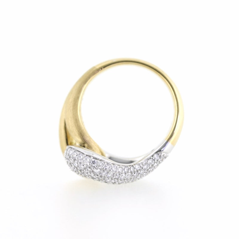 Fenella Diamond 18ct Gold Ring FINE & RARE