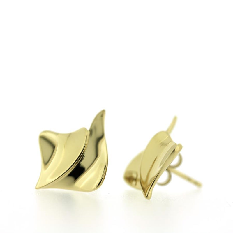 Furlio Gilded Sterling Silver Earrings