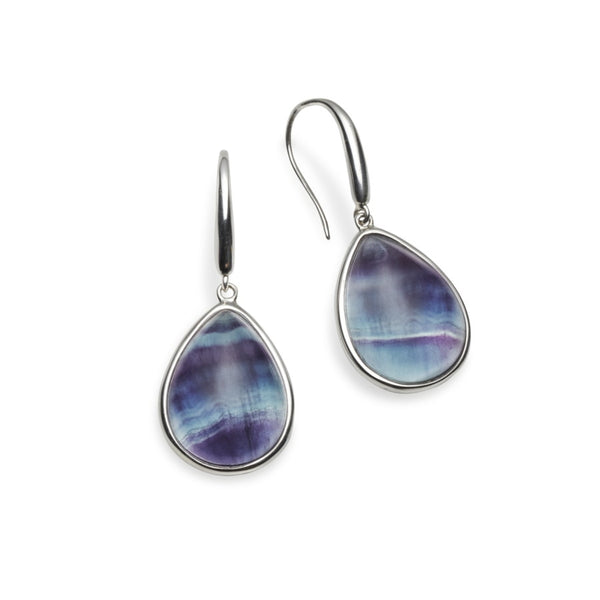 Giverny Fluorite Earrings