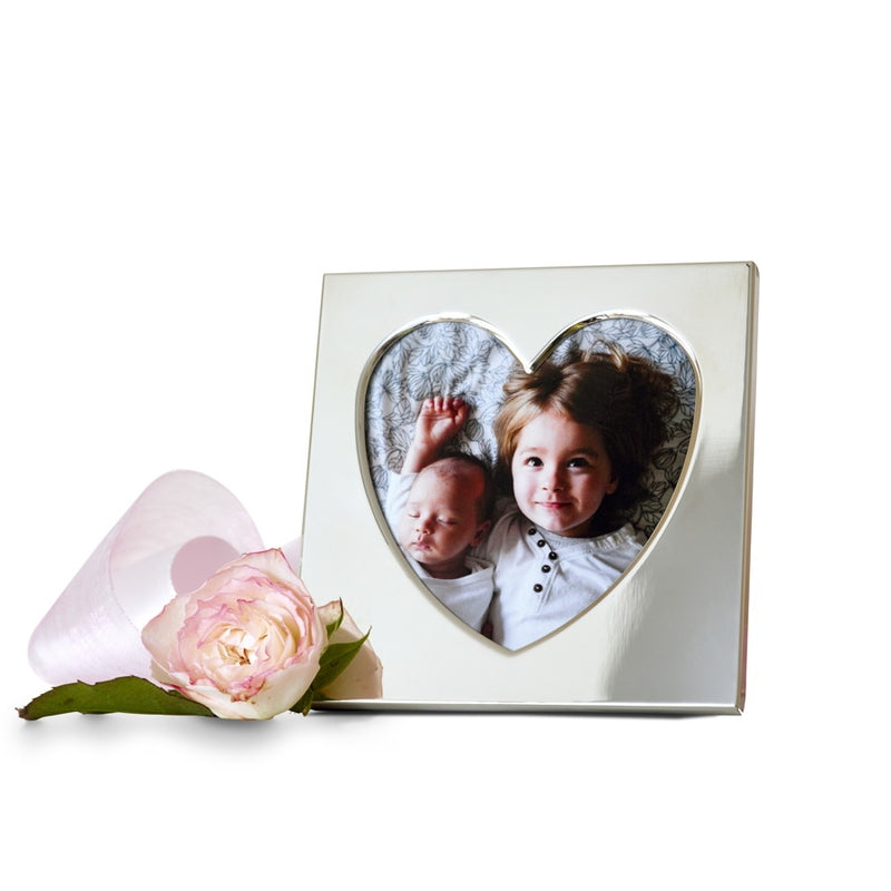 Sweetheart Sterling Silver Photograph Frame