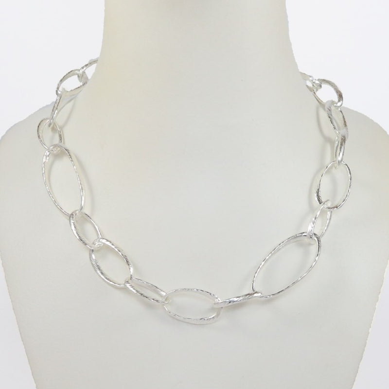 Donatella Sterling Silver Necklace