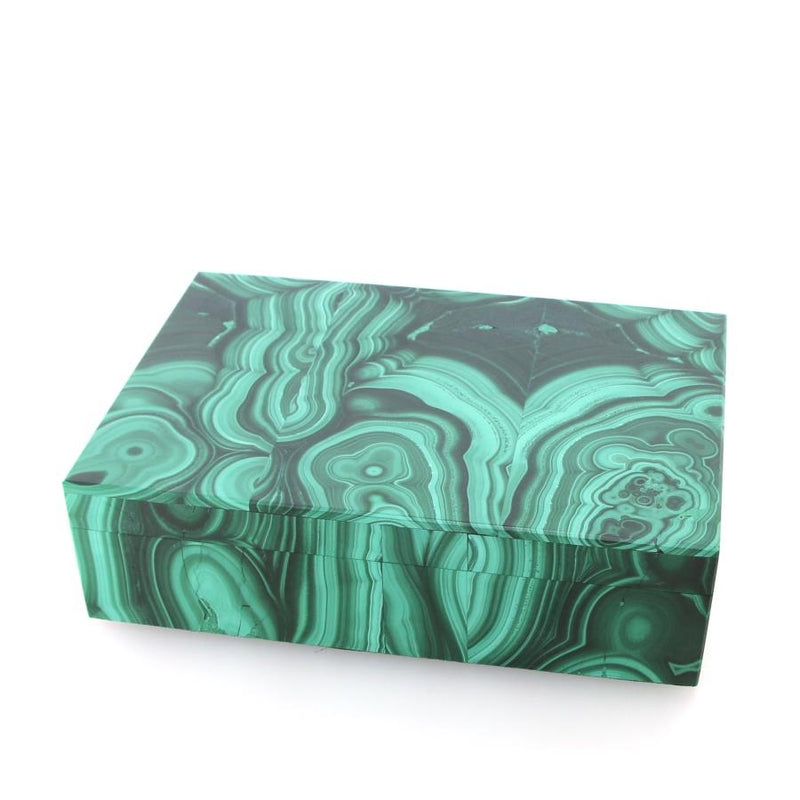 K446 Large Malachite Box
