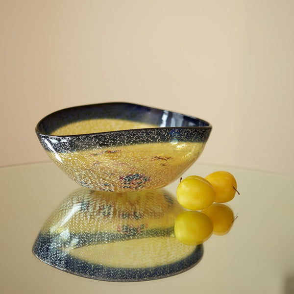 Klimt English Art Glass Bowl