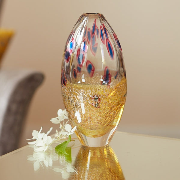 Klimt English Art Glass Vase